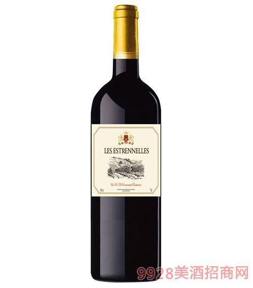 法国艾斯泰德干红葡萄酒14度750ml