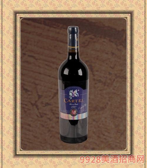 2007皇 家干红葡萄酒750ml