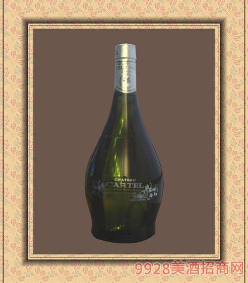 进口750ml骑士干白葡萄酒