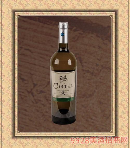 进口干白葡萄酒750ml