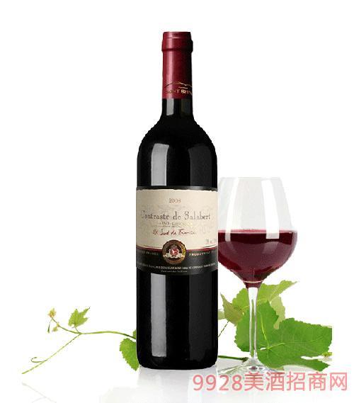 法国康蒂莎伯干红葡萄酒