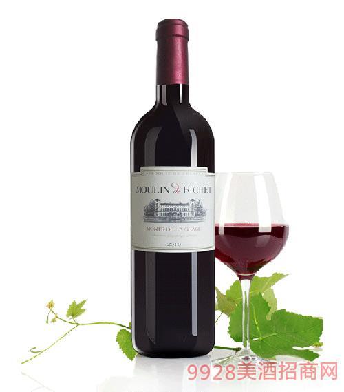 法国红色城堡干红葡萄酒