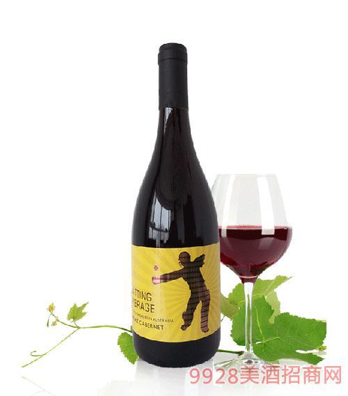 活力澳洲板球手干红葡萄酒