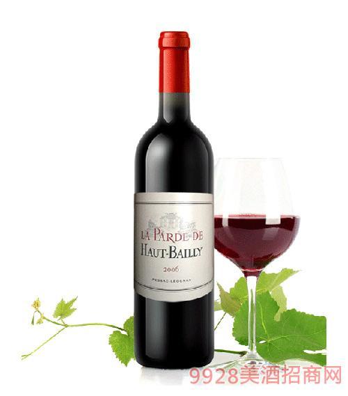 法国高柏丽堡副牌干红葡萄酒