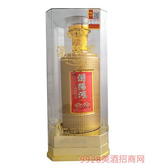 浏阳河酒淡雅V18-52度475ml