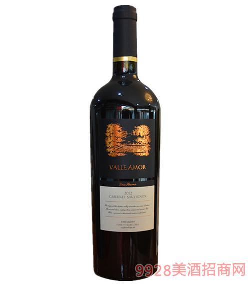 智利蒙尼亚特级珍藏赤霞珠干红葡萄酒(木箱装)