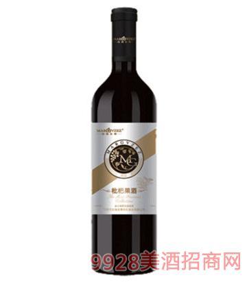 玫瑰至尊枇杷果酒(黄标)