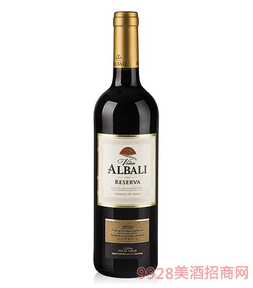 欧百乐珍藏干红葡萄酒2010