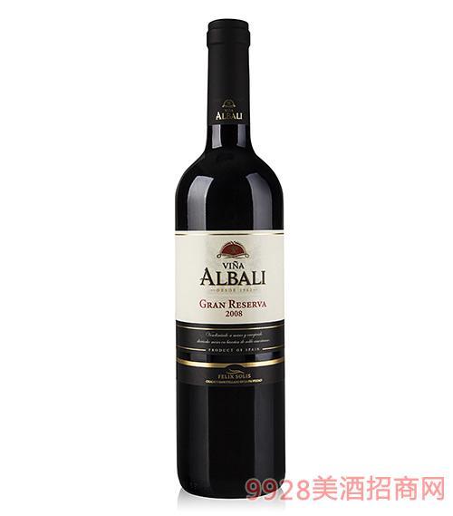 欧百乐特藏干红葡萄酒2008
