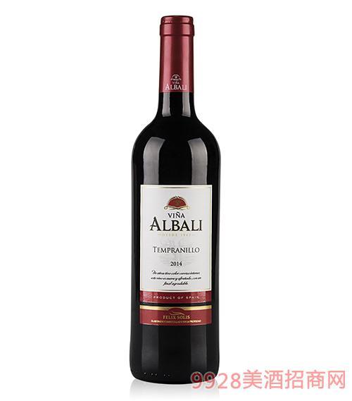 欧百乐干红葡萄酒2014
