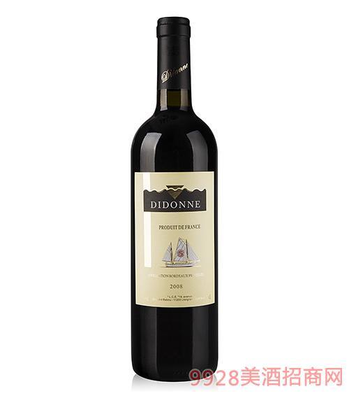 蒂多娜干红葡萄酒2008AOC