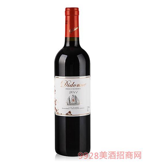 蒂多娜干红葡萄酒2011AOP