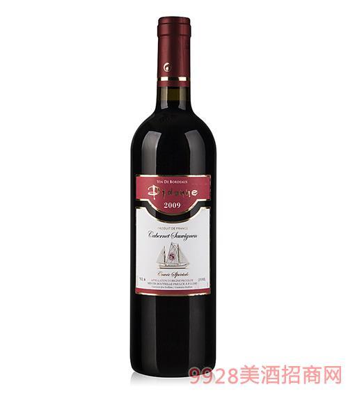 蒂多娜干红葡萄酒2009AOC