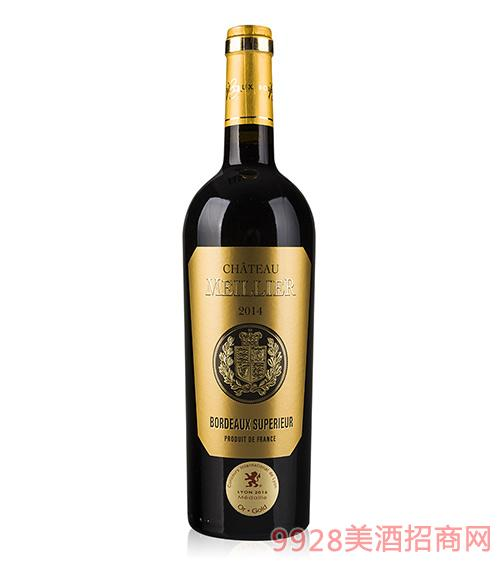 美悦城堡红葡萄酒2014