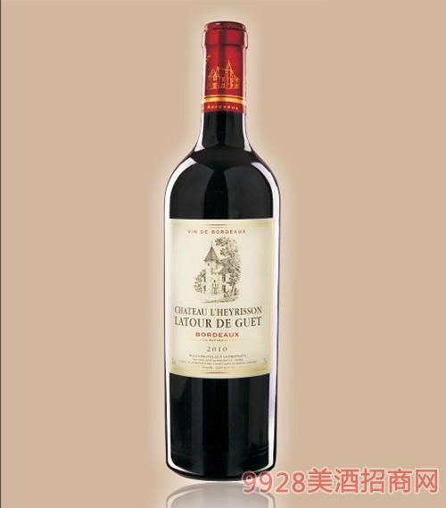 拉图连理颂古堡干红葡萄酒