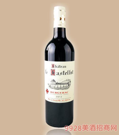 卡斯特罗城堡干红葡萄酒