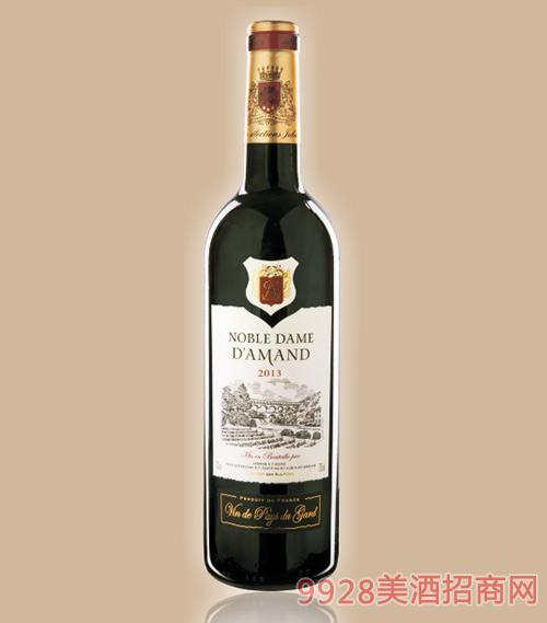 贵族安曼达干红葡萄酒