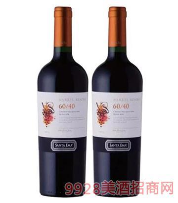 橡木桶珍藏赤霞珠梅洛珍藏红葡萄酒B-1
