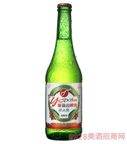 百威英博雁荡山啤酒鲜之爽428ml