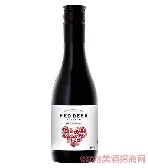 心相随红葡萄酒13.5度187ml