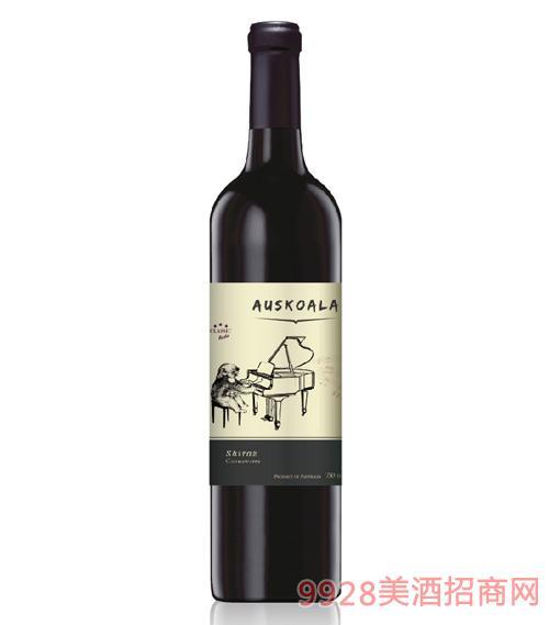 澳斯卡拉经典西拉干红葡萄酒14度750ml