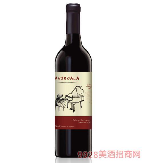 澳斯卡拉经典赤霞珠干红葡萄酒13.5度750ml