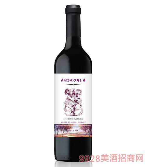 澳斯卡拉经典混酿干红葡萄酒13.5度750ml