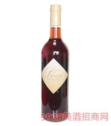 瓦勒之花桃红葡萄酒