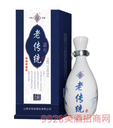 老传统酒青花瓷42度500ml