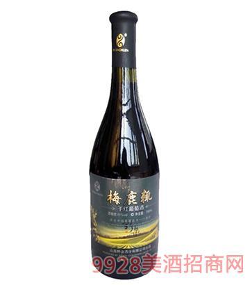 野泉梅鹿辄干红葡萄酒