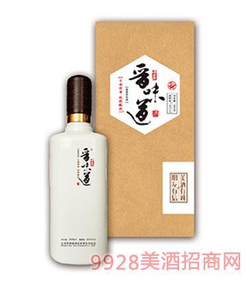 晋味道酒10年礼盒装45度500ml