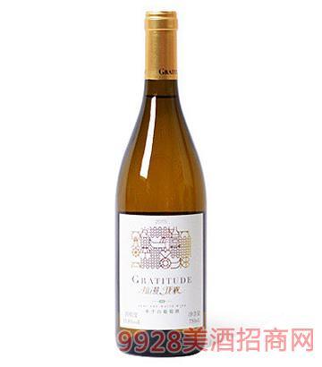 拉漫珑襄半干白葡萄酒13.8度750ml