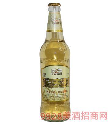 百威英博雁荡山啤酒金麦王480ml