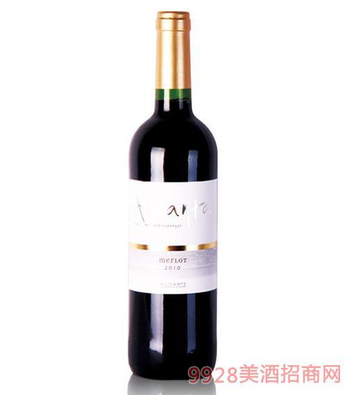 阿甘达梅洛红葡萄13度750ml