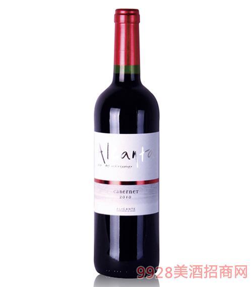 阿甘达红葡萄酒13度750ml