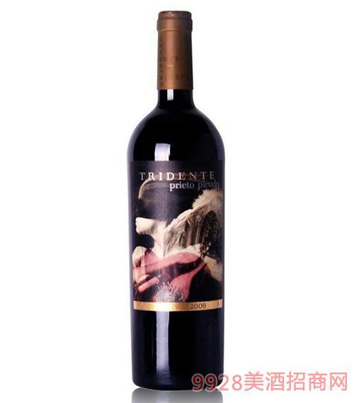 雷登特红葡萄酒15.5度750ml
