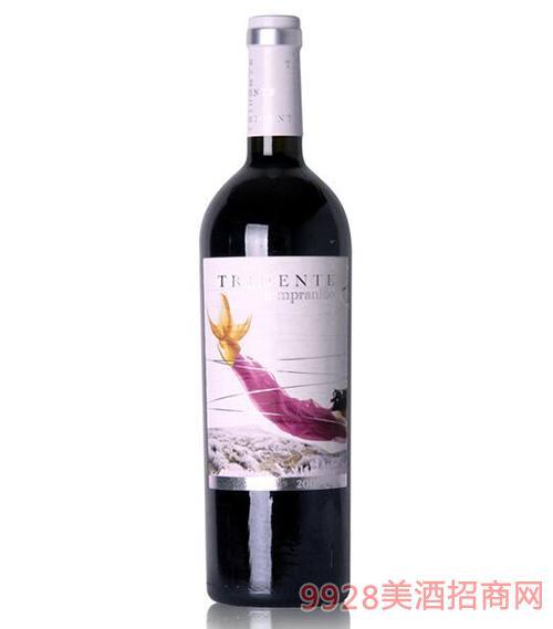 雷登特添帕尼尤红葡萄酒15度750ml