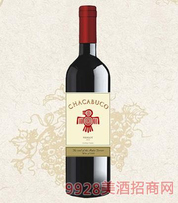 灵魂鸟美乐干红葡萄酒