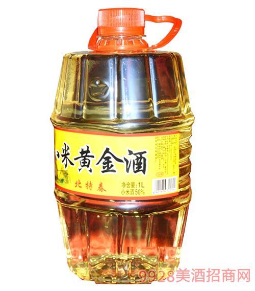 北特春小米黄金酒1L