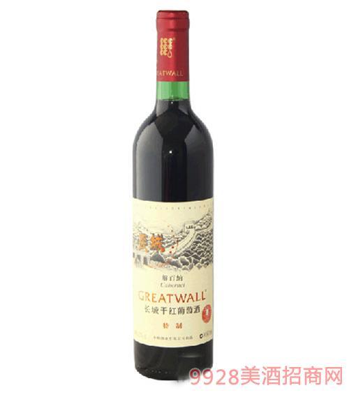 长城特制解百纳干红葡萄酒