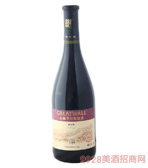 长城金钻橡木桶百纳干红葡萄酒