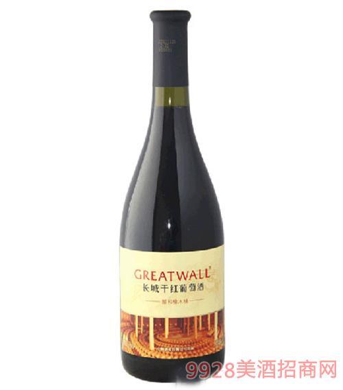 长城醇和橡木桶干红葡萄酒