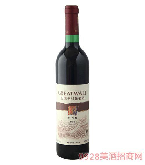 长城出口型黄标干红葡萄酒