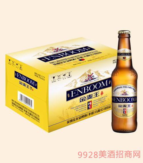 英宝金麦王纯生啤酒-275ml