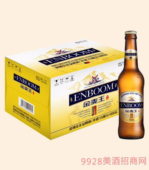 英宝金麦王纯生啤酒-325ml