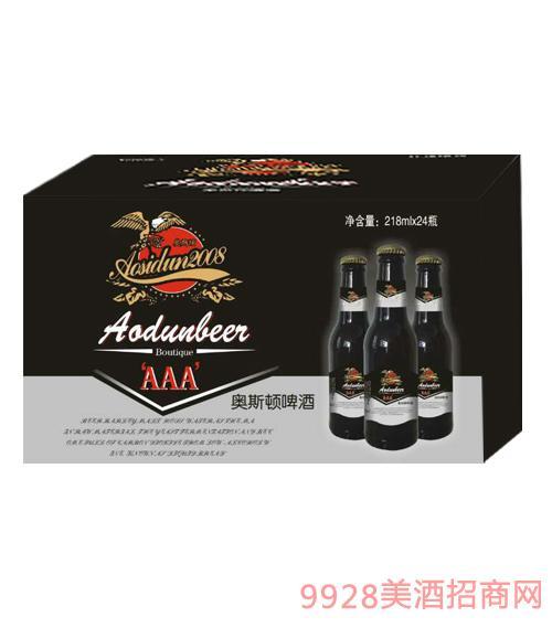 奥斯顿啤酒218mlx24