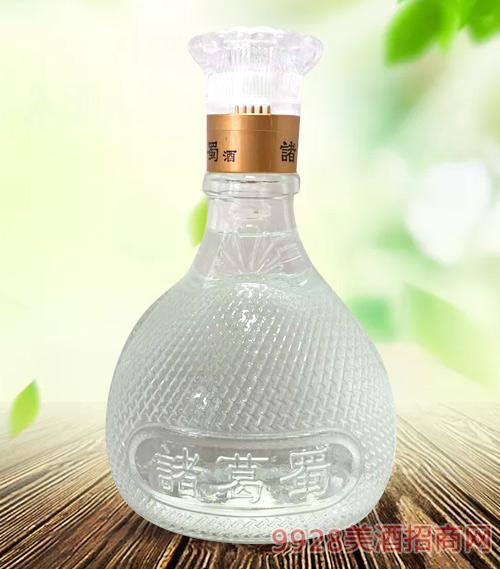 诸葛蜀酒水晶瓶50度500ml