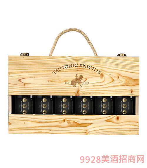 法国·条顿骑士葡萄酒-小酒礼盒