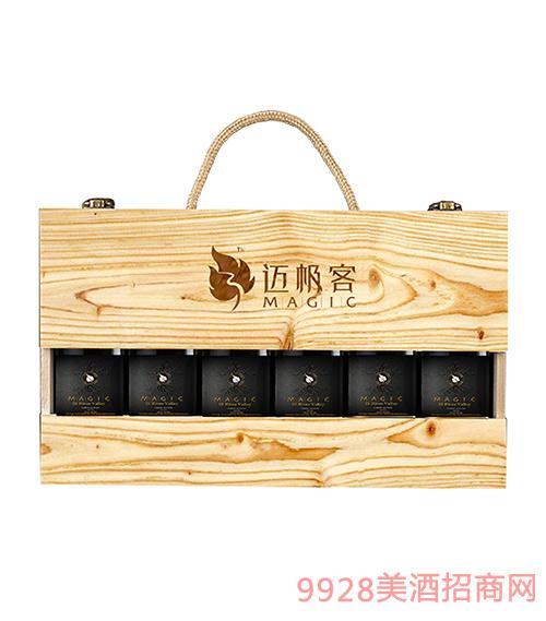 迈极客干红葡萄酒-小酒礼盒