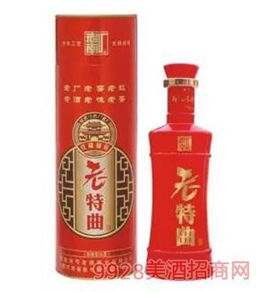 老特曲酒-红盒
